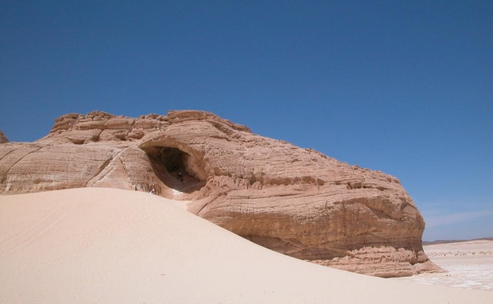 hole in desert